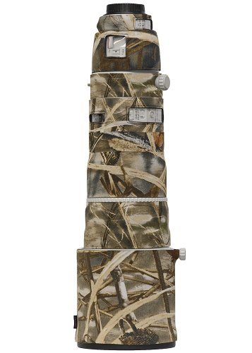 LensCoat lc200400m4 Lens Cover for Canon 200-400 IS f4 (Realtree Max4 HD)