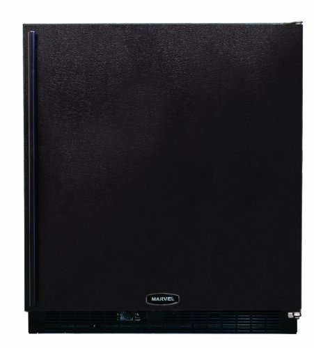 Marvel 80Rf-Bb-F-R 30-Inch Undercounter Refrigerator/Freezer Right Hinge Door, Black front-623516