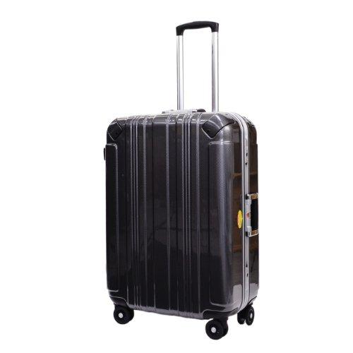 SPALDING スポルディングスーツケース TSAロック SSL ハードキャリー 双輪 SP-0655-68 (ブラックチェック)