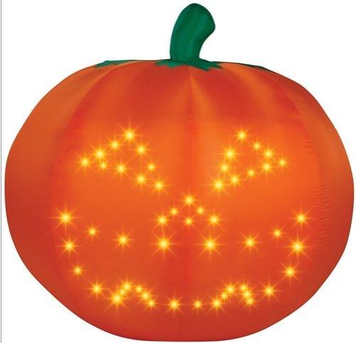 Gemmy Light Show Singing Pumpkin Inflatable #64089G