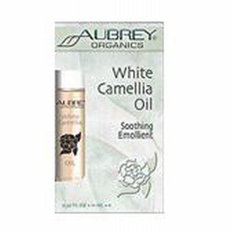 Aubrey Organics - White Camellia Oil Soothing Emollient, .36 Fl Oz Liquid