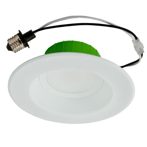 Nicor Lighting Dlr56-25-120-3K-Wh 3000K Dlr56 5/6-Inch Led Downlight White Led Retrofit Kit