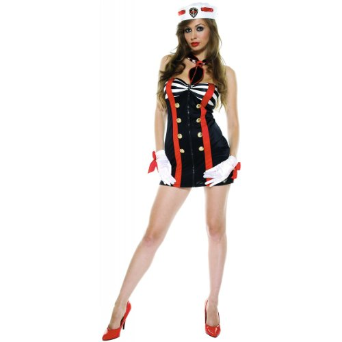 Sailor Chic Costume - Large/X-Large - Dress Size 10-14