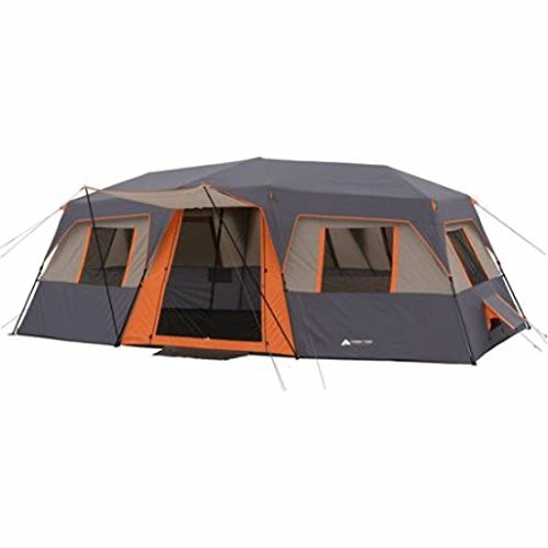 Cabin-Tent-12-person-3-room-Instant-Orange