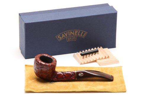 Savinelli Alligator Brown 305 Tobacco Pipe