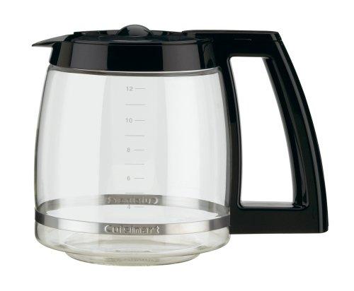 Imagen de Cuisinart DCC-1200 Brew Central para 12 tazas Cafetera programable, Negro / metal pulido