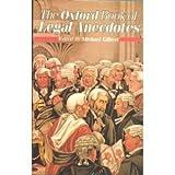 The Oxford Book of Legal Anecdotes