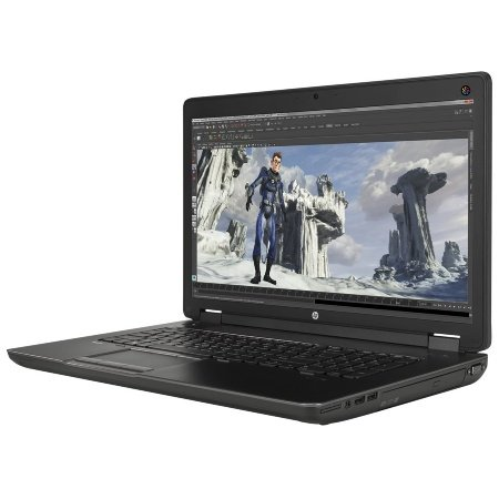 Hewlett Packard J8Z39EA#ABD ZBOOK 17-G2 43,94 cm (17,3 Zoll) Notebook (Intel Core I7-4710MQ, 3,5GHz, 16GB RAM, 256GB HDD, Win 7 Professional) schwarz