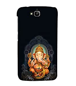 Fuson 3D Designer Mobile Back Case Cover For Huawei Honor Holly