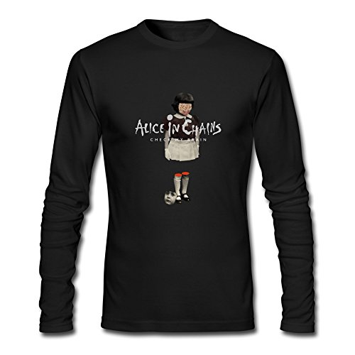 ziyuan-mens-alice-in-chains-check-my-brain-long-sleeve-t-shirt-xxl-black