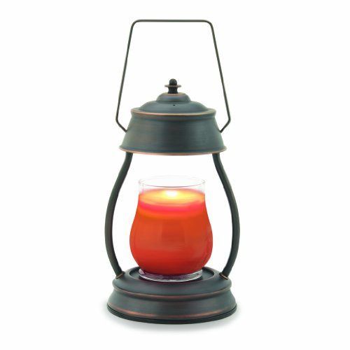 Candle Warmers Etc. Hurricane Candle Warmer Lantern, Metallic Series, Oil Rubbed Bronze