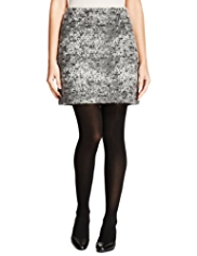 M&S Collection Bouclé Mini Skirt with New Wool
