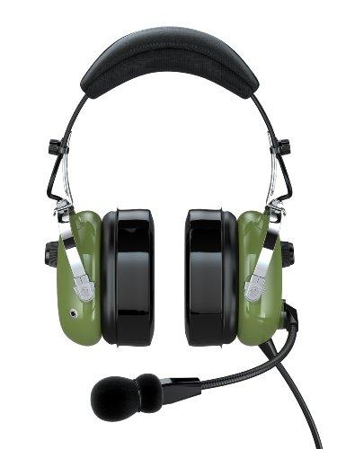 Faro G2-Pnr Premium Pilot Aviation Headset With Mp3 Input, Green
