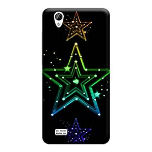 Skintice Designer Back Cover with direct 3D sublimation printing for Vivo Y31L