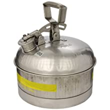 "Eagle 1313 Type I Safety Can, 11-1/4"" Width x 9-5/8"" Depth, 2-1/2 Gallon Capacity"