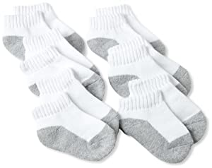 Fruit Of The Loom Toddler Boys 6 Pack Low Cut Sock from Fruit of the Loom