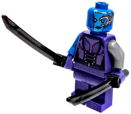 Lego Super Heroes Guardians Of The Galaxy Nebula minifigure (loose) - 1