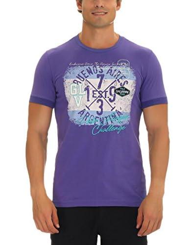 GALVANNI Camiseta Manga Corta Continie Violeta