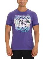 GALVANNI Camiseta Manga Corta Continie (Violeta)