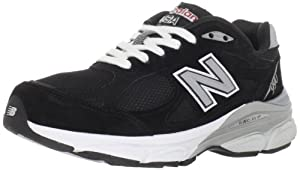 New Balance Women's W990 Running Shoe,Black,9 D US
