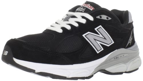 New Balance Women's W990 Running Shoe,Black,6.5 D US