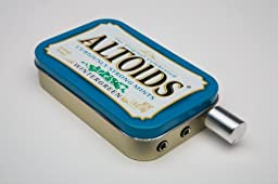 Audiophile CMOY headphone amplifier USA made with high quality parts-Altoids Wintergreen