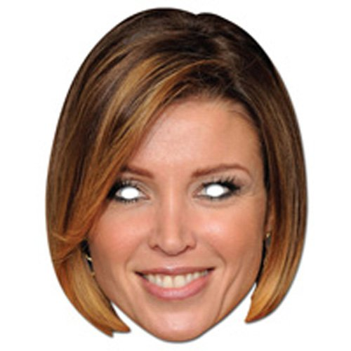 Partyrama Danni Minogue Celebrity Cardboard Mask - Single - 1