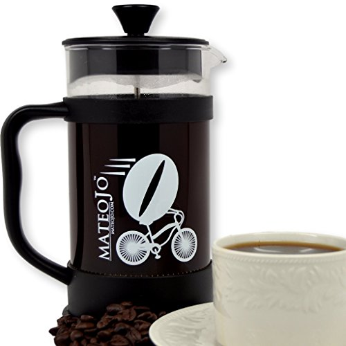 Mateojo Coffee Maker : French Press Coffee and Tea Maker - Press Pot - Cafetiere - Carafe and Plunger - 34 Oz by ...