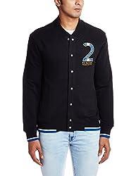 U.S.Polo.Assn. Men's Cotton Sweatshirt (8907259127798_USSS0475_S _Black)