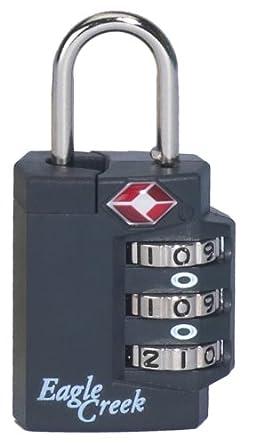Eagle Creek Travel Gear Superlight TSA Lock,Charcoal