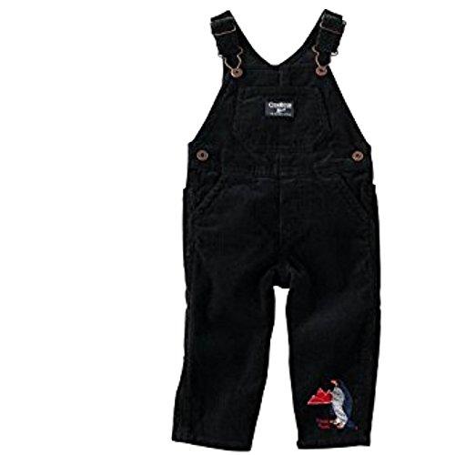 oshkosh-bgosh-pantalon-de-peto-chaqueta-guateada-para-bebe-nino-negro-9-mes