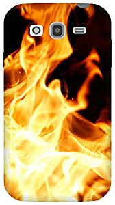 The Racoon song of fire hard plastic printed back Case for Samsung Galaxy Grand Neo