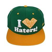 e553ee777292c DGK x Diamond Supply Co. I Love Hearts Diamond Ghetto Kids Haters Snapback  Hat