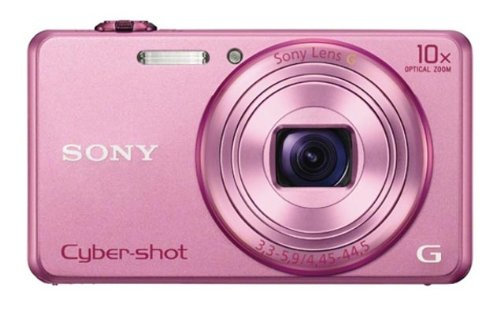 Sony-Cyber-shot-DSC-WX200PCE32-182MP-Point-and-Shoot-Digital-Camera-Pink-with-Camera-Case