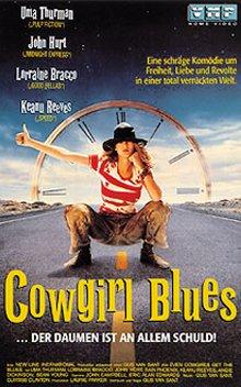 Cowgirls Blues - ... der Daumen ist an allem schuld! [VHS]