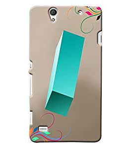Clarks Letter I Hard Plastic Printed Back Cover/Case For Sony Xperia C4