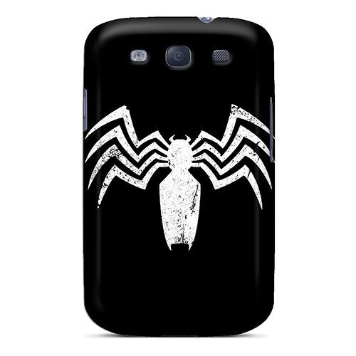Ultra Slim Fit Hard Purecase Case Cover Specially Made For Galaxy S3- Venom Logo
