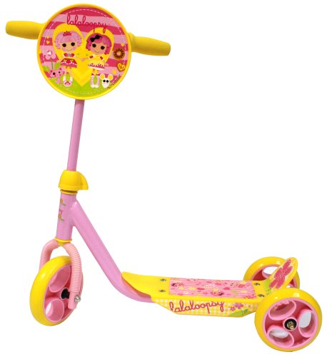 Lalaloopsy 3 Wheel Pre School Scooter (Multi)