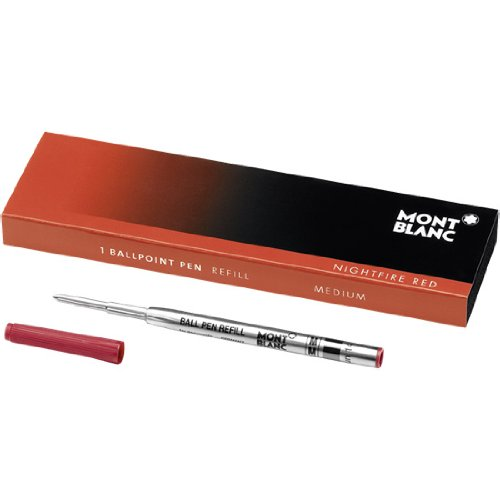 Montblanc Recharge pour Stylo Bille rouge M