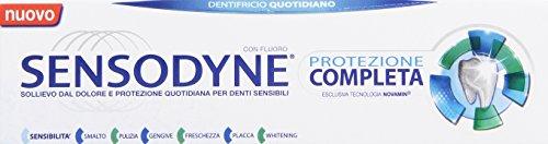Sensodyne - Dentifricio Quotidiano, con Fluoro, Protezione Completa - 75 ml