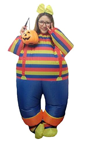 Ace Halloween Adult Inflatable Suit Clown Costumes
