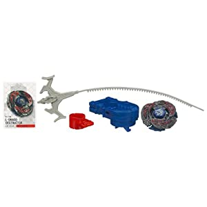 Beyblade Metal Fury L-Drago Destructor #B-148 LW105LF Top