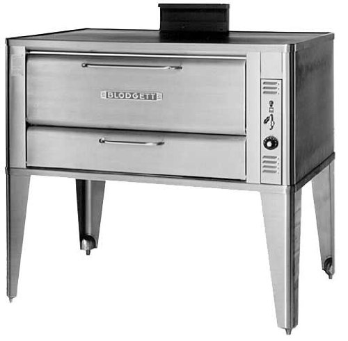Blodgett S/S Deck Type Gas Single Pizza Oven Base Only, 12″ H