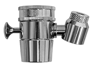 Kwik Sip Brass In Home Faucet Attachment Water Fountain