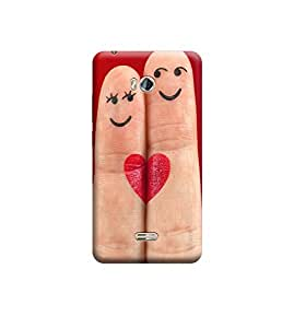 Ebby Premium Printed Back Case Cover With Full protection For Micromax Bolt Q336 (Designer Case)
