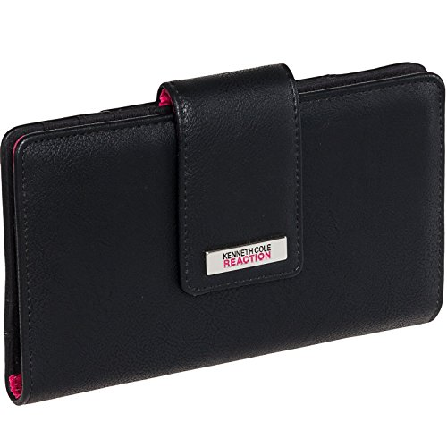 kenneth-cole-reaction-womens-tab-utility-clutch-wallet-w-mirror-buff-black