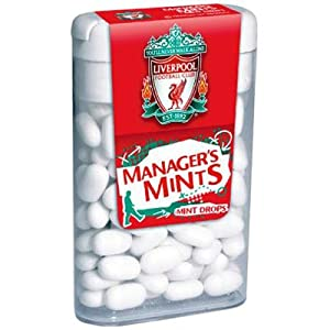 Liverpool Fc Manager Mints - Football Gifts from Official Football Merchandise