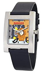 South Park Men's D1520S060 Kuban Collection Kenny Black Leather Watch