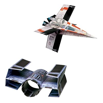 Star Wars Folded Flyers Paper Starfighters