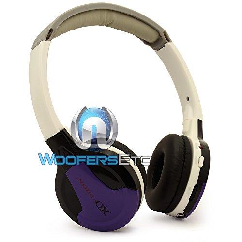 Xo Vision Ir630Pr Universal Ir Wireless Foldable Headphones, Purple